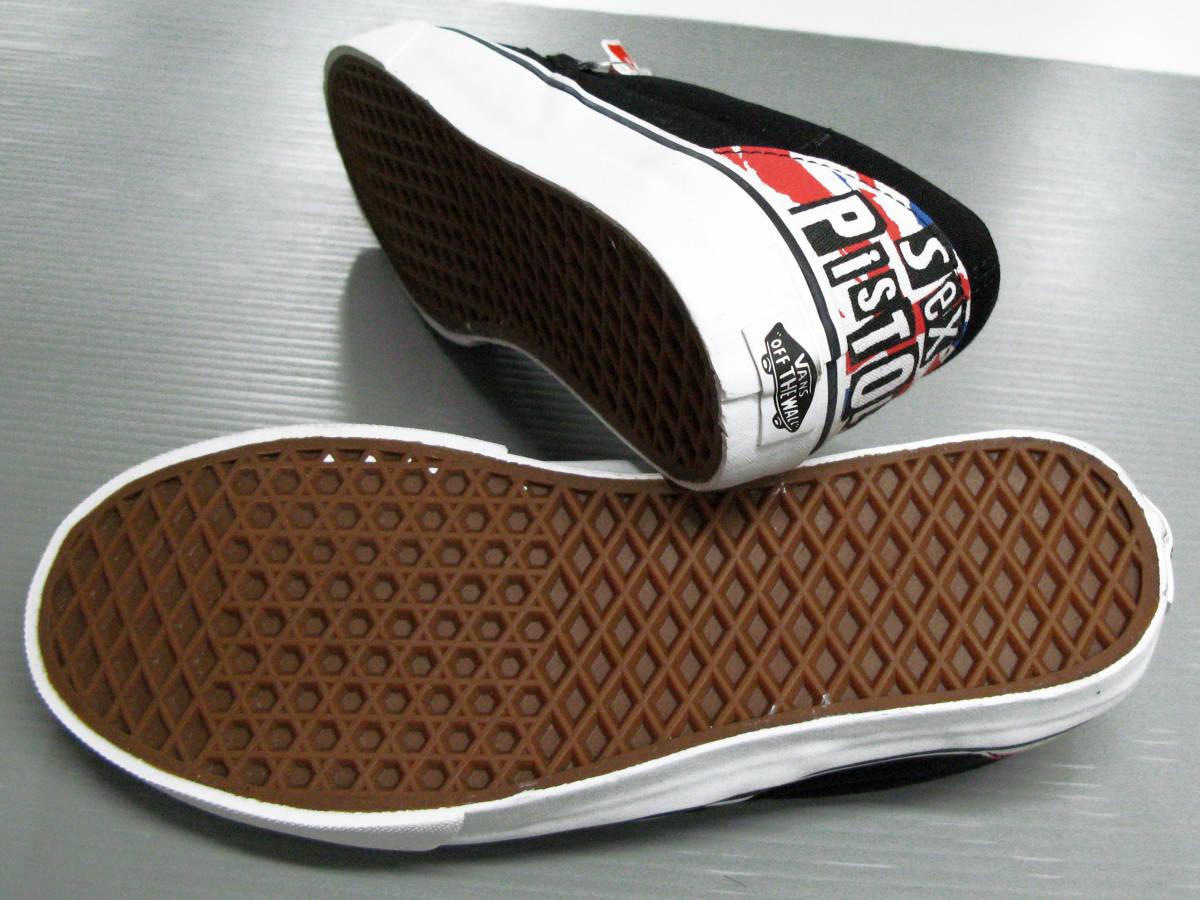 バンズ VANS SEX PISTOLS:コラボスニーカー新品 US8.5 26.5cm( レア 限定 classic slip-on VANS SEX PISTOLS sneakers シューズ 靴_画像5