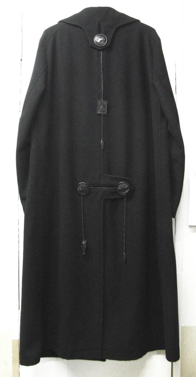 ヨウジヤマモト プールオム : 2019AW デカ釦 コート ( 真鍮ボタン 今期 デカボタン Yohji Yamamoto pour HOMME 2019-20AW coat_画像3