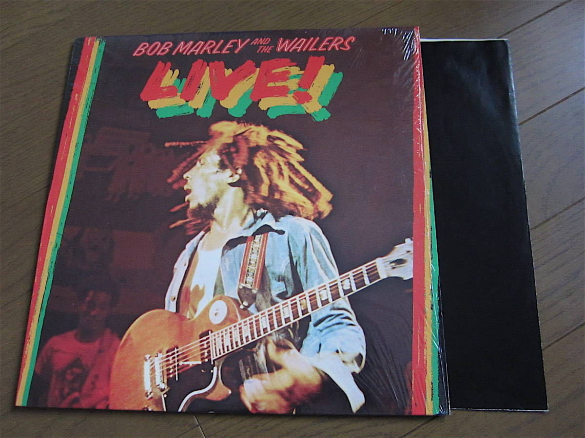 □BOB MARLEY AND THE WAILERS LIVE! 米盤オリジナルシュリンク美品! 両面STERLING刻印_画像1