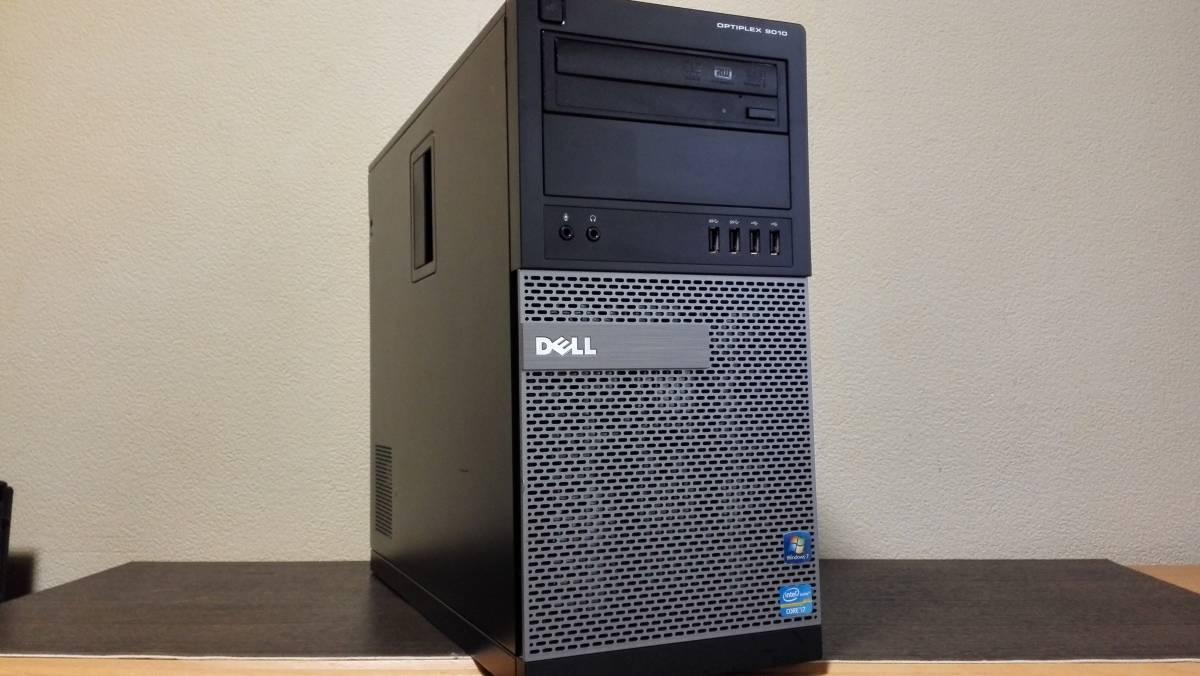 高速 SSD512GB新品+1TB ゲーミング DELL OPTIPLEX 9010 i7-3770 NVIDIA GeForce GT640 w