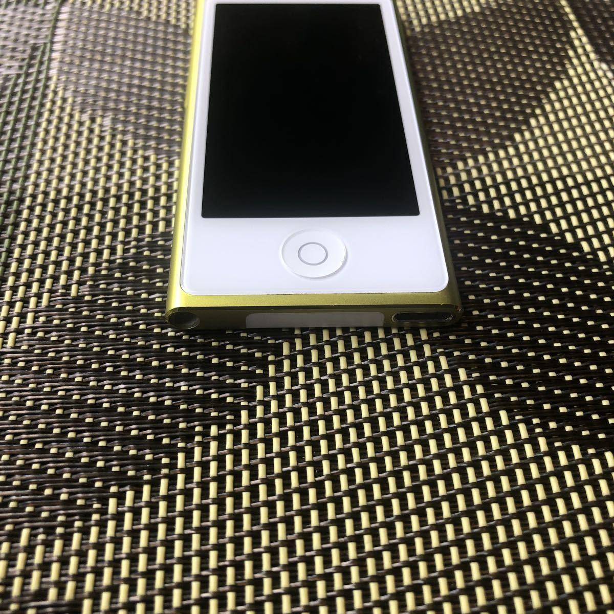 iPod7世代 16G yellow 中古 比較的美品 管理番号0317A_画像2
