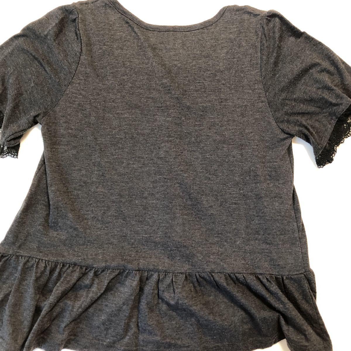 黒 半袖 カットソー