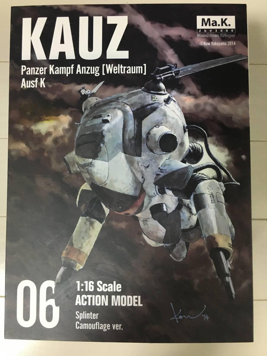 美品 千値練Ma.k 1/16 アクションモデル KAUZ_画像1