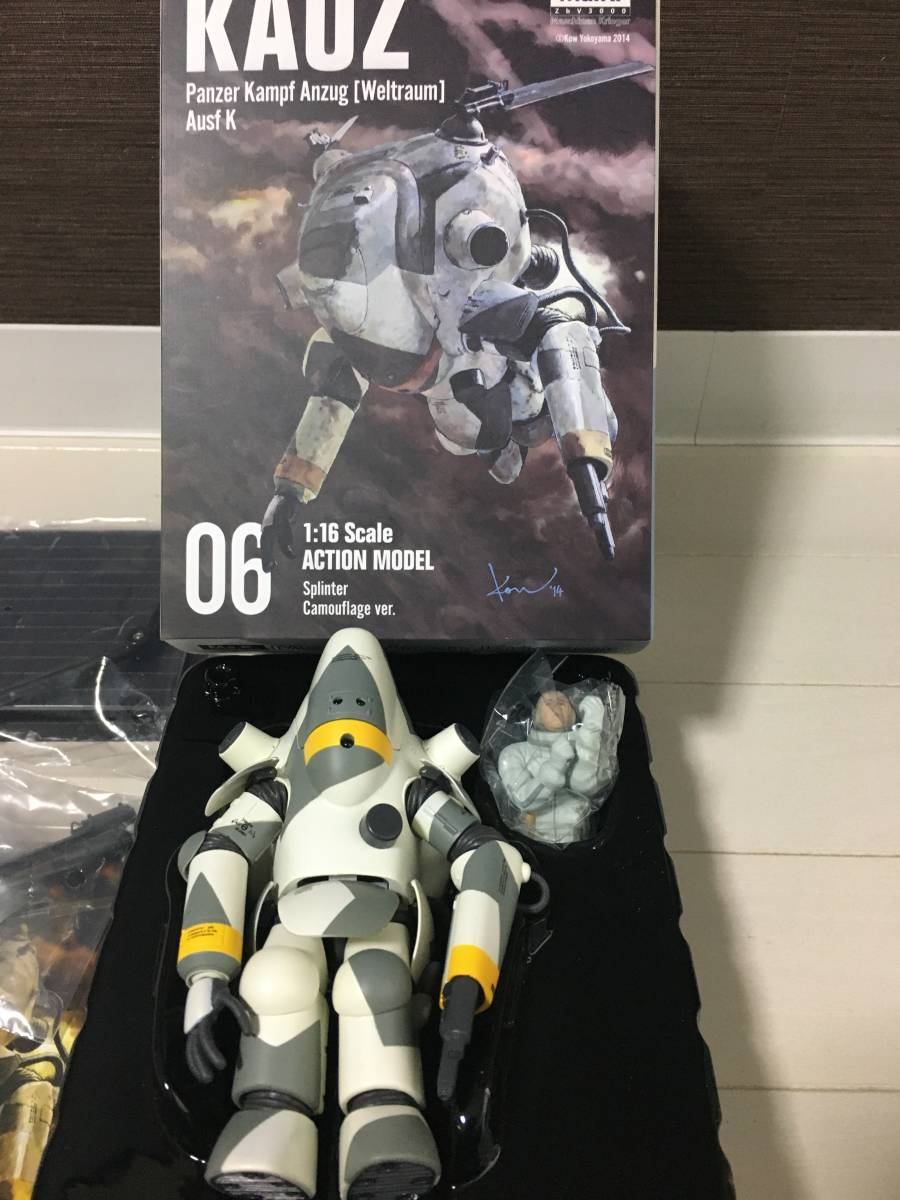 美品 千値練Ma.k 1/16 アクションモデル KAUZ_画像3