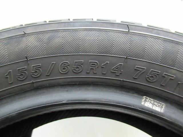 155-65R14 8分山 ヨコハマAドライブ 中古タイヤ【2本セット】送料無料(AM14-2301)_画像5