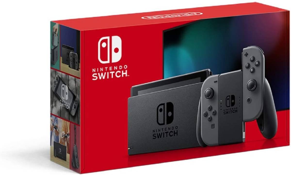 Nintendo Switch ニンテンドースイッチ Joy-Con(L)/(R) グレー(バッテリー持続時間が長くなったモデル) 新品未開封_画像1
