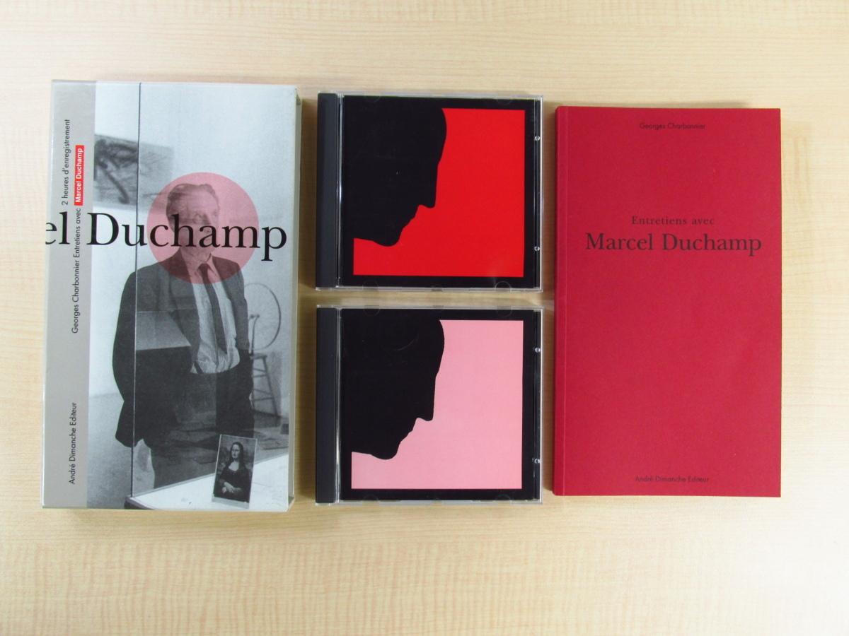完品・美品『Entretiens avec Marcel Duchamp』(CD2枚+別冊完備) マルセル・デュシャンとの対話収録 現代美術_画像1