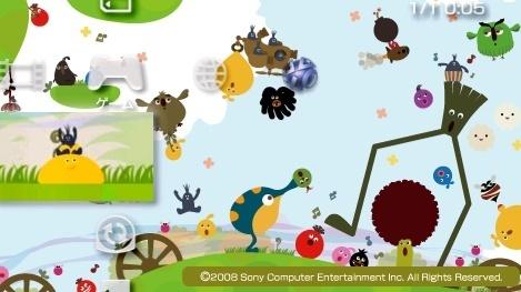 PSP ソニー・インタラクティブエンタテインメント LocoRoco2(ロコロコ2) _画像3