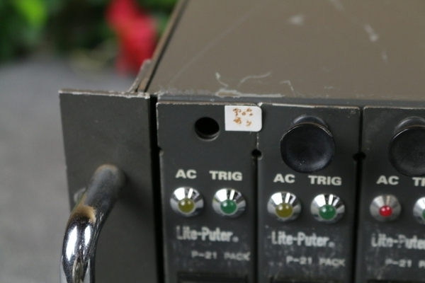 【ライトピューター Lite-Puter】調光ユニット(DX-1220D)舞台照明 舞台演出 現状品 R236_画像4