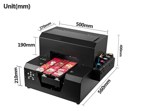 UVプリンター 様々な素材へ直接プリント アクリル 革 布 金属へロゴ印刷 UVP-A4 長期サポート可_画像2