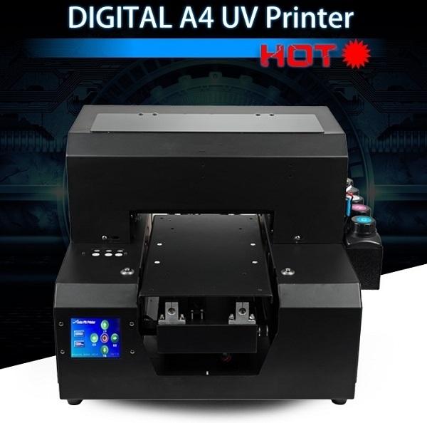 UVプリンター 様々な素材へ直接プリント アクリル 革 布 金属へロゴ印刷 UVP-A4 長期サポート可_画像1