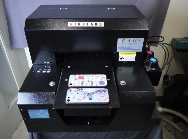 UVプリンター 様々な素材へ直接プリント アクリル 革 布 金属へロゴ印刷 UVP-A4 長期サポート可_画像7