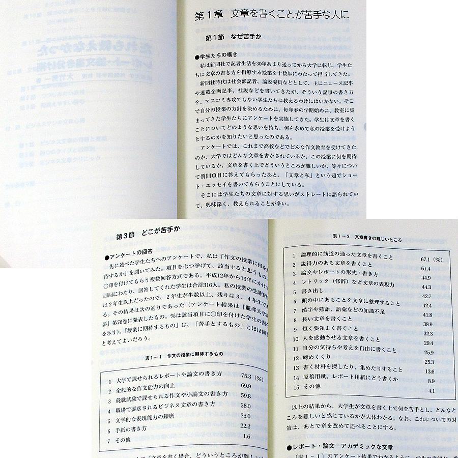 ワンランク上のレポート・論文作成術 文章作成 表現力 国語力 養成ガイド 書き方 仕上げ方 調査研究レポート 卒業論文 ビジネス文書#_本編に書き込み、目立つ汚れはありません