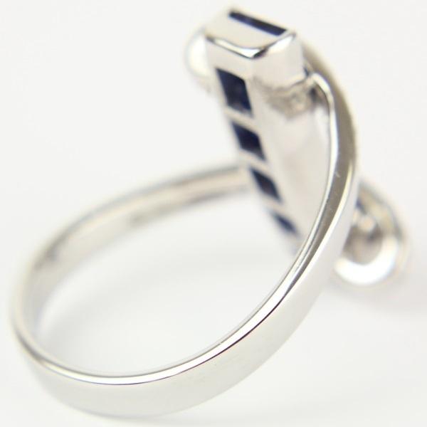 【ジュエリー】サファイヤリング/ダイヤモンド/Pt900/10.5号/8.2g/指輪/レディース/アクセサリー/プラチナ_画像5