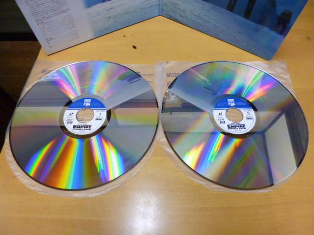 レーザーディスク スターウォーズ 3作品売り スターウォーズ 帝国の逆襲 エピソード1 中古LD ジャンク扱い_画像5