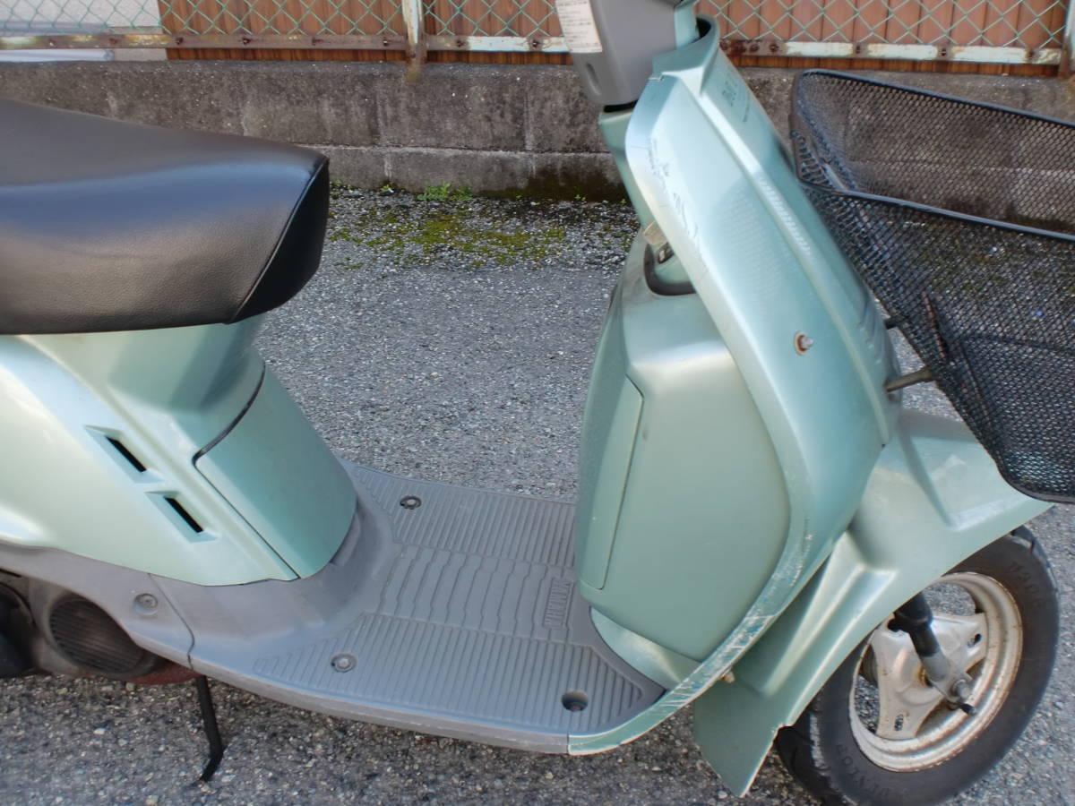 「ヤマハ ミント50(1YU)セル付 実動車 3N ジャンク 旧車」の画像3