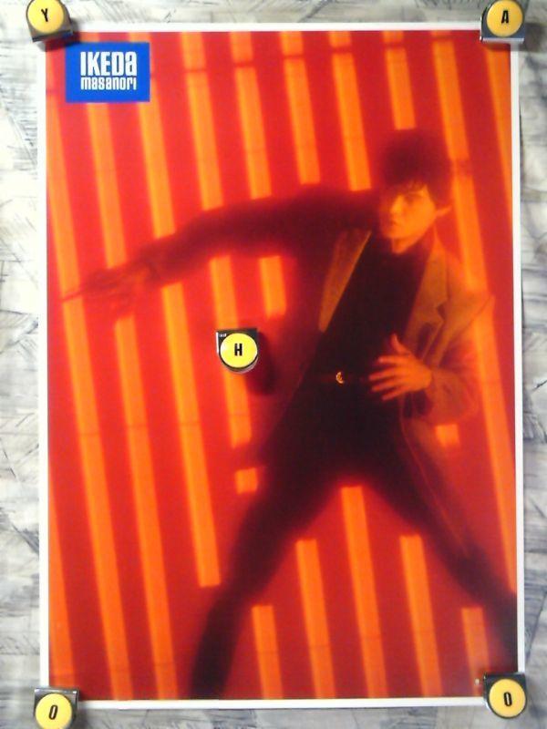 p2【ポスター/B-2-515x728】池田政典/'87-Quarterback/告知用非売品ポスター_画像1