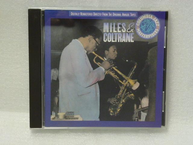 """◆米盤 jazz CD/MILES DAVIS AND JOHN COLTRANE-""""MILES AND COLTRANE""""◆マイルス・デイヴィス&ジョン・コルトレーン◆_画像1"""