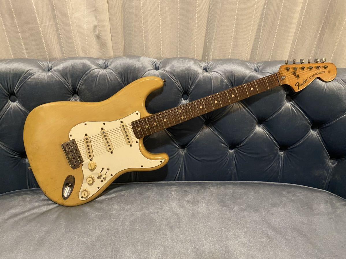 希少品 1976年製 Fender USA Stratocaster フェンダー ストラトキャスター ストラト ヴィンテージ クリーム色