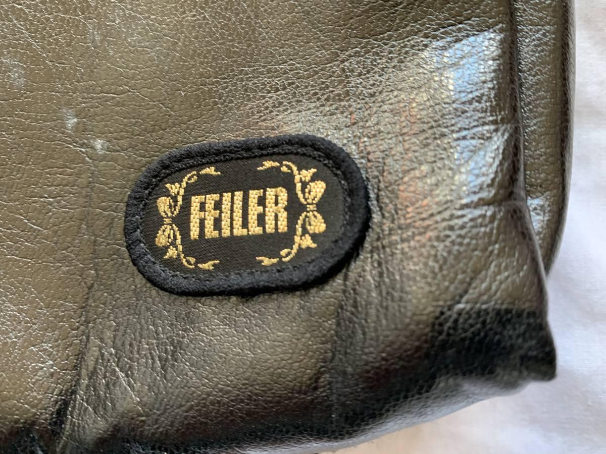 フェイラー(FEILER) ハンドバッグ ポーチ ショルダーバッグ ハンドバッグ  花柄 未使用品 送料無料 保管品