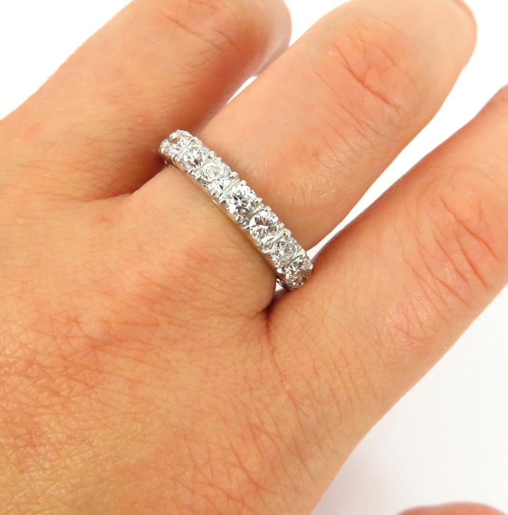◆アンティーク◆貴重◆《3.0ct オールドマインカット ダイヤモンド》【プラチナ】《指輪 エタニティ リング》_画像7