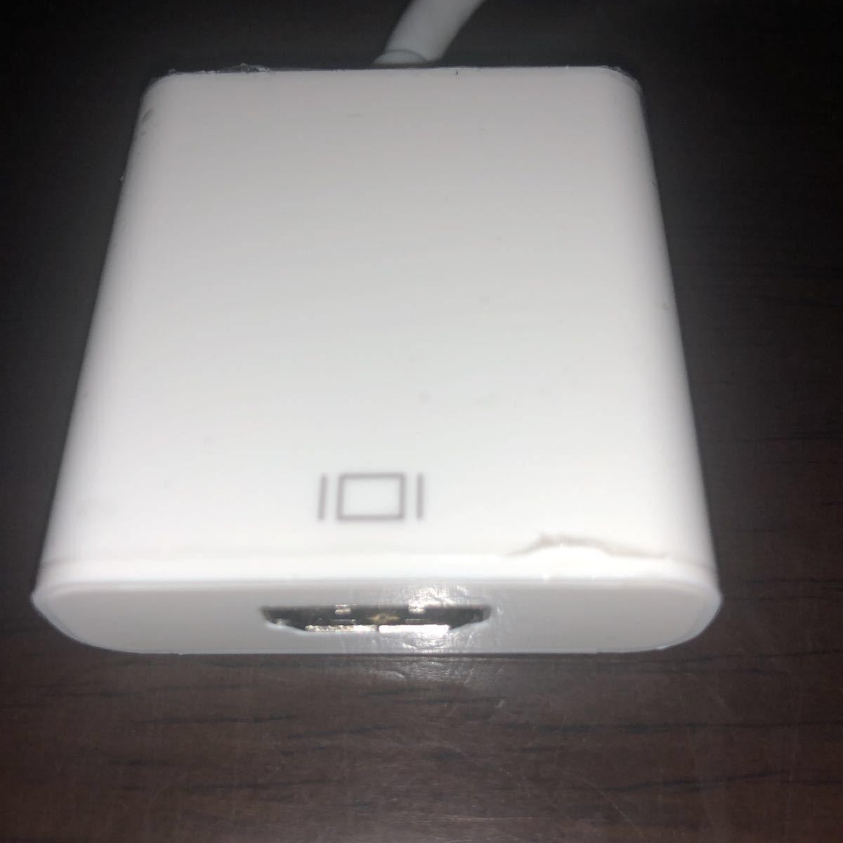 ミニDisplayPort → HDMI変換ケーブル AD-mDPMHF