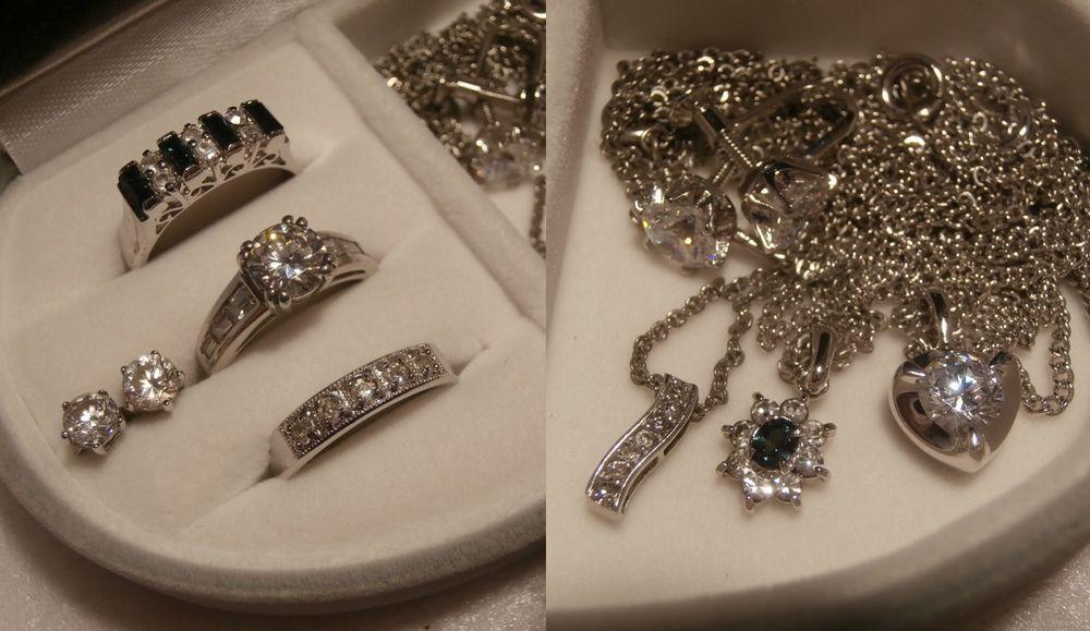 ♪遺品整理品おまとめPt1000など刻印多数アクセサリー指輪ネックレスやイヤリング中古ケ