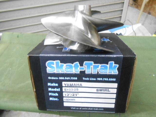 skat-trakスキャトラインペラーヤマハ160mmポンプ用GP1800 FX-SVHO FZSVHOFZRSVHOラージハブ