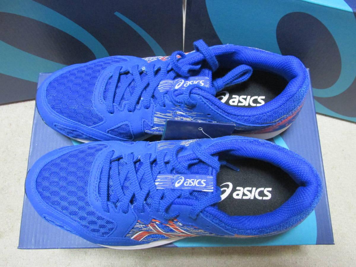 アシックス asics ライトレーサー ワイド 25.0cm ブルーカラー