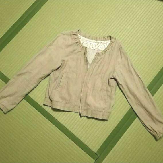 使いやすいRETRO GIRLのジャケットフリーサイズノーカラー