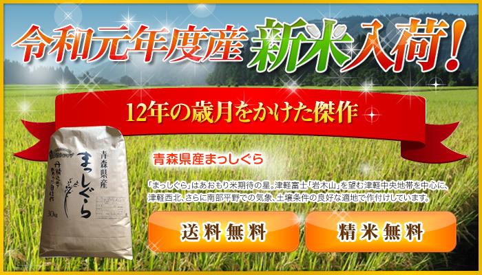 令和2年度 青森県産まっしぐら 白米10kg _画像3