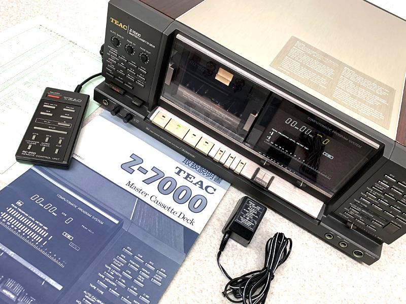 ■メンテ済■TEAC Z-7000 カセットデッキ 最高峰モデル ティアック■