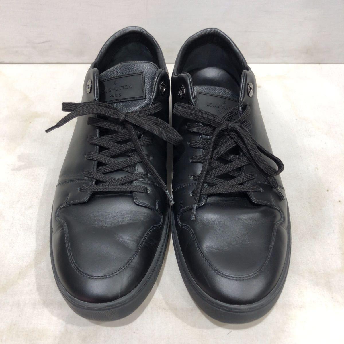 【LOUIS VUITTON】ローカットスニーカー ルイヴィトン ラインアップ ライン ダミエグラフィット レザー 靴 ブラック 黒 9 ts202109_画像2