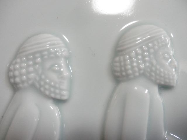 @@青白磁 白磁  ヒツジ アンティーク コレクション 雑貨 インテリア soiの銘あり 陶器の飾り物_画像2