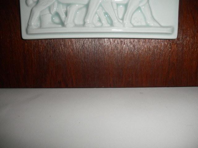@@青白磁 白磁  ヒツジ アンティーク コレクション 雑貨 インテリア soiの銘あり 陶器の飾り物_画像5