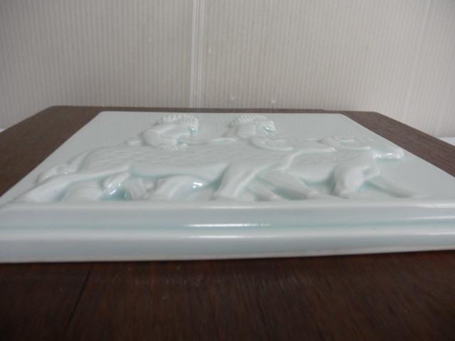 @@青白磁 白磁  ヒツジ アンティーク コレクション 雑貨 インテリア soiの銘あり 陶器の飾り物_画像10