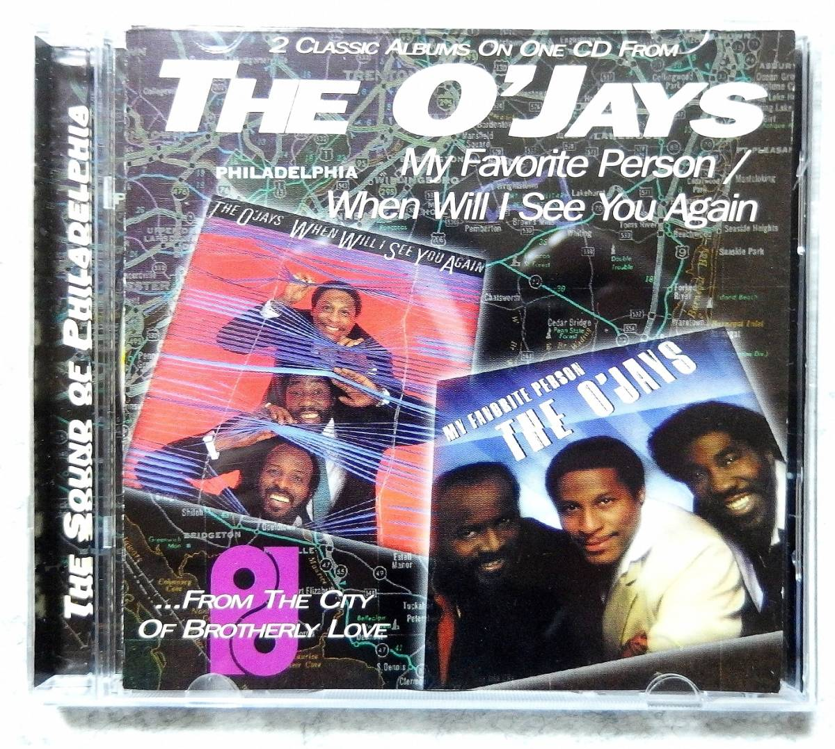 ★ The O'Jays オージェーズ MY FAVORITE PERSON / WHEN WILL I SEE YOU AGAIN 82年 83年 2in1 Gamble & Huff McFadden & WhiteHead _画像1