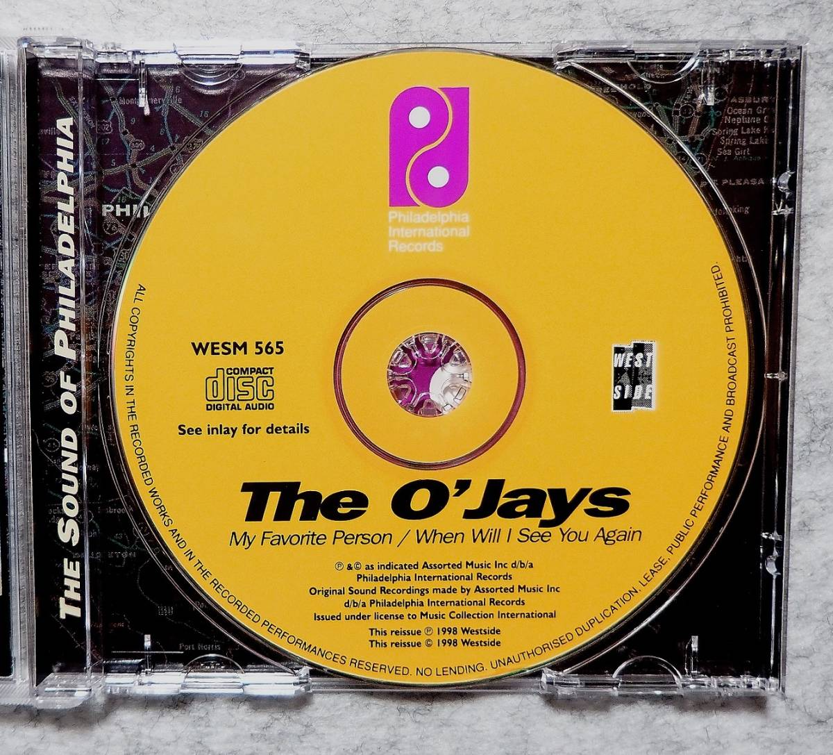 ★ The O'Jays オージェーズ MY FAVORITE PERSON / WHEN WILL I SEE YOU AGAIN 82年 83年 2in1 Gamble & Huff McFadden & WhiteHead _画像3