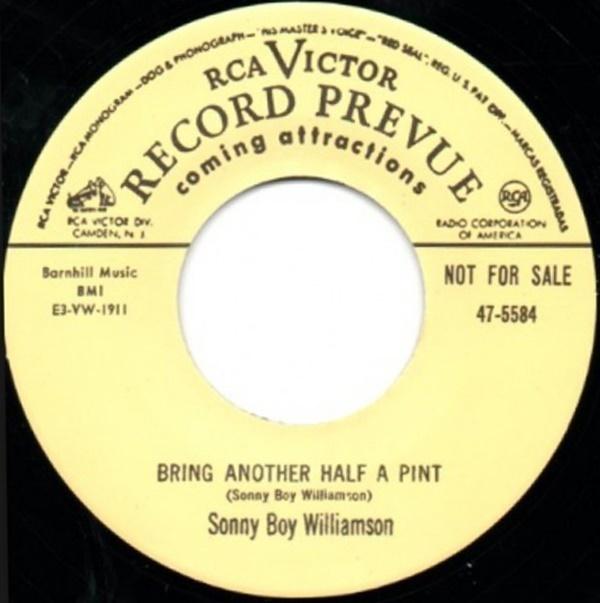 ★新品即決★50's-60'sリプロ再発盤 Sonny Boy Williamson /Square Walton [Rca]_画像1