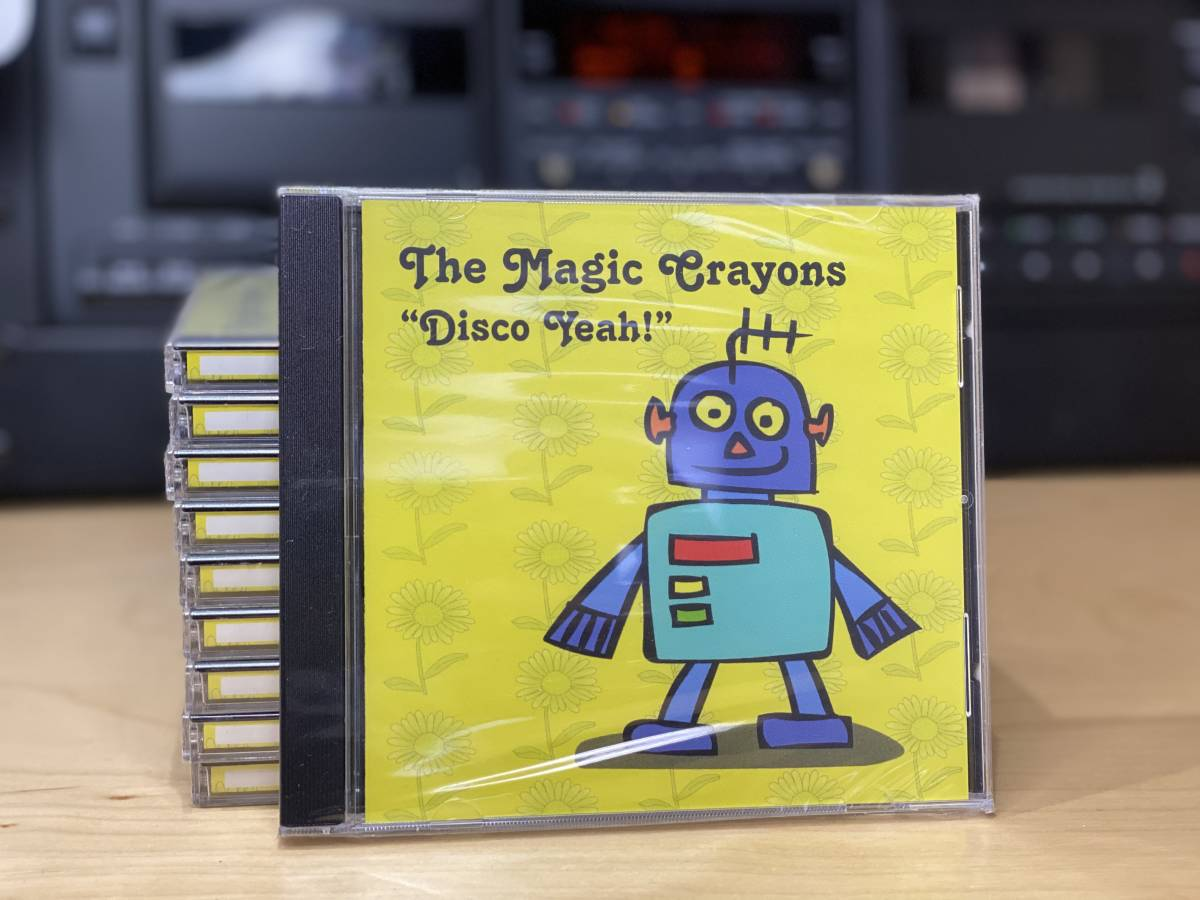 Cx10 CD The Magic Crayons, Disco Yeah 子供、幼稚園、就学前、小学生向けの楽しい英語の歌。16曲 Simple English Songsマジッククレヨン_画像1