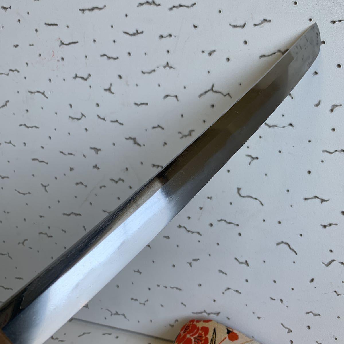 短刀 真剣 珍品貴重 乱刃短刀 横手入_画像5