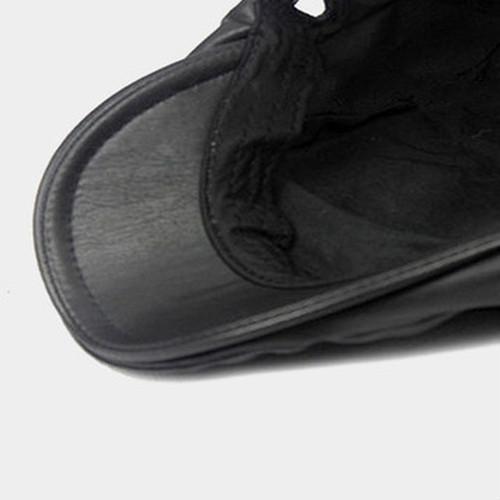 【新品】 黒 ハンチング帽 帽子 ベレー帽 旅行 ゴルフ 自転車 男女 散歩 出かけ 皮質 アウトドア キャスケット 55-60cm zwxa 077_画像8