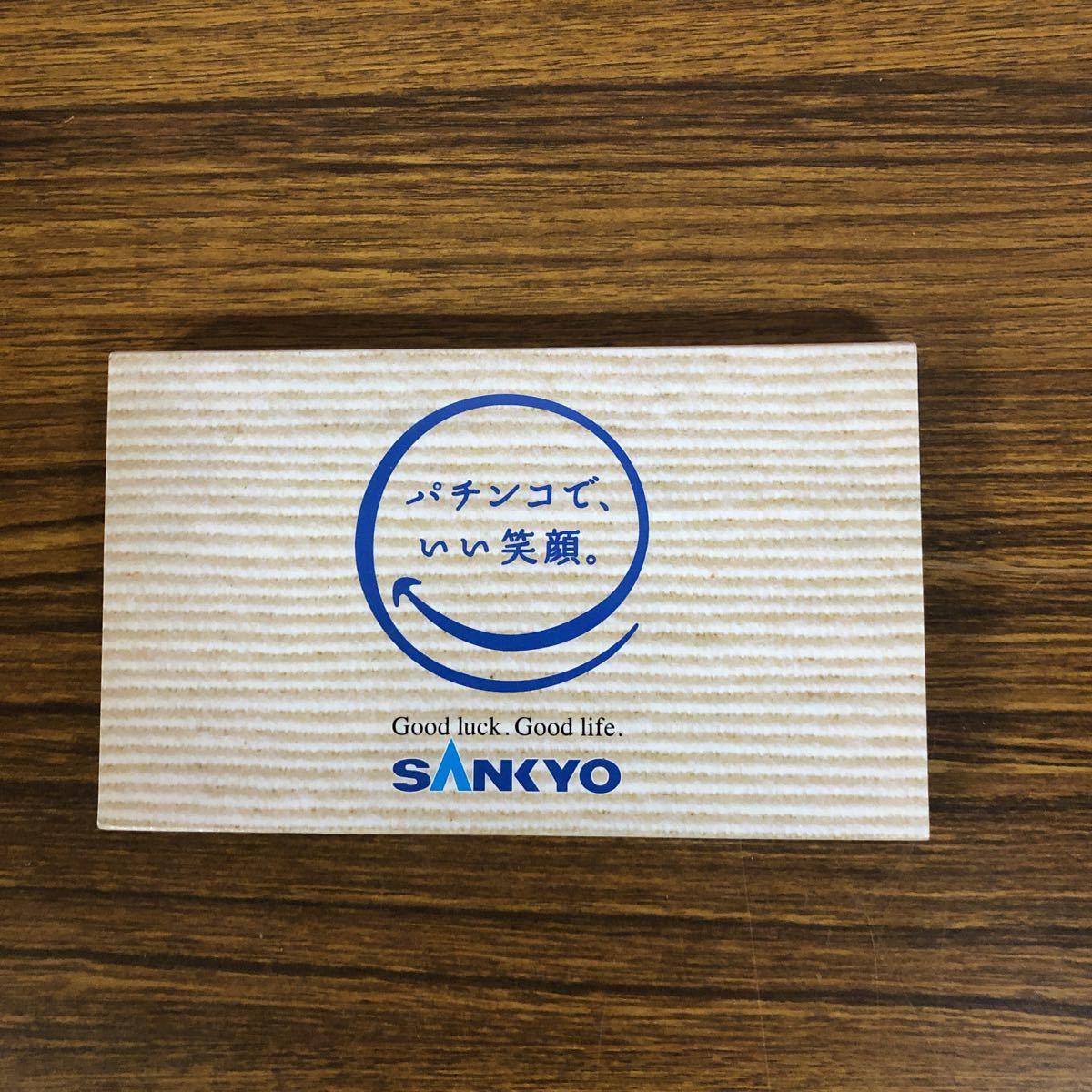 2093 パチンコSANKYO非売品ゴルフマーカーセット_画像1