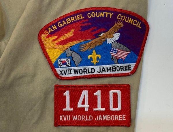 H4028 BOY SCOUTS OF AMERICA ボーイスカウトオブアメリカ BSA 半袖シャツ ボーイスカウトシャツ MADE IN USA ベージュ SM_画像8