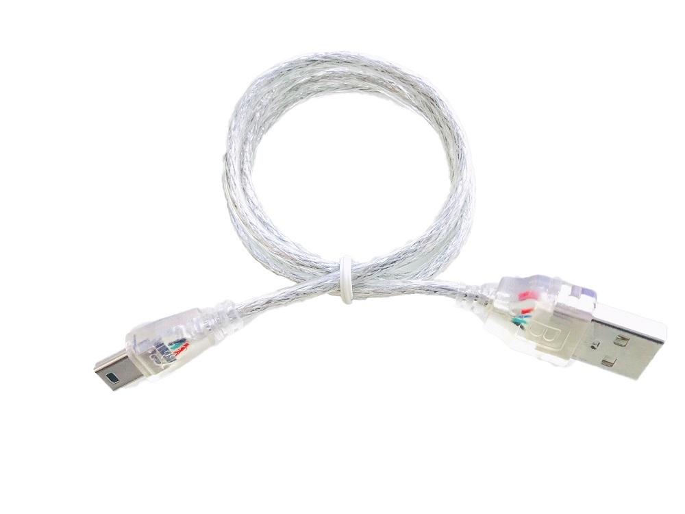 USB2.0ケーブル 70cm Aタイプオス mini-Bオス HDD デジカメ ゲーム機 などの接続に