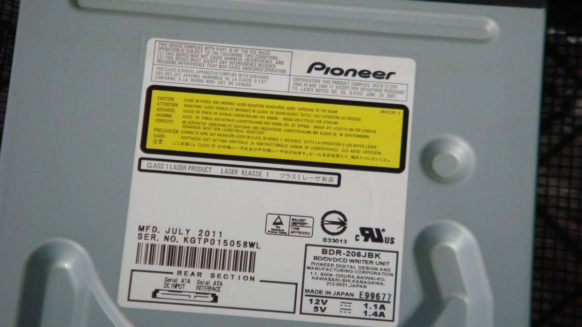 Pioneer製 Blu-ray Disc Writer BDR-208JBK 送料無料