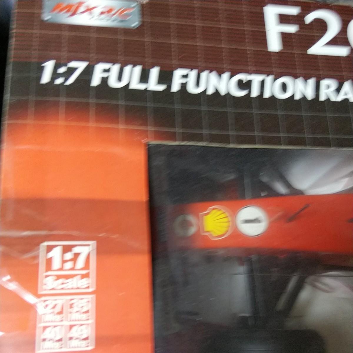 1/7  F2005 フェラーリ ラジコン
