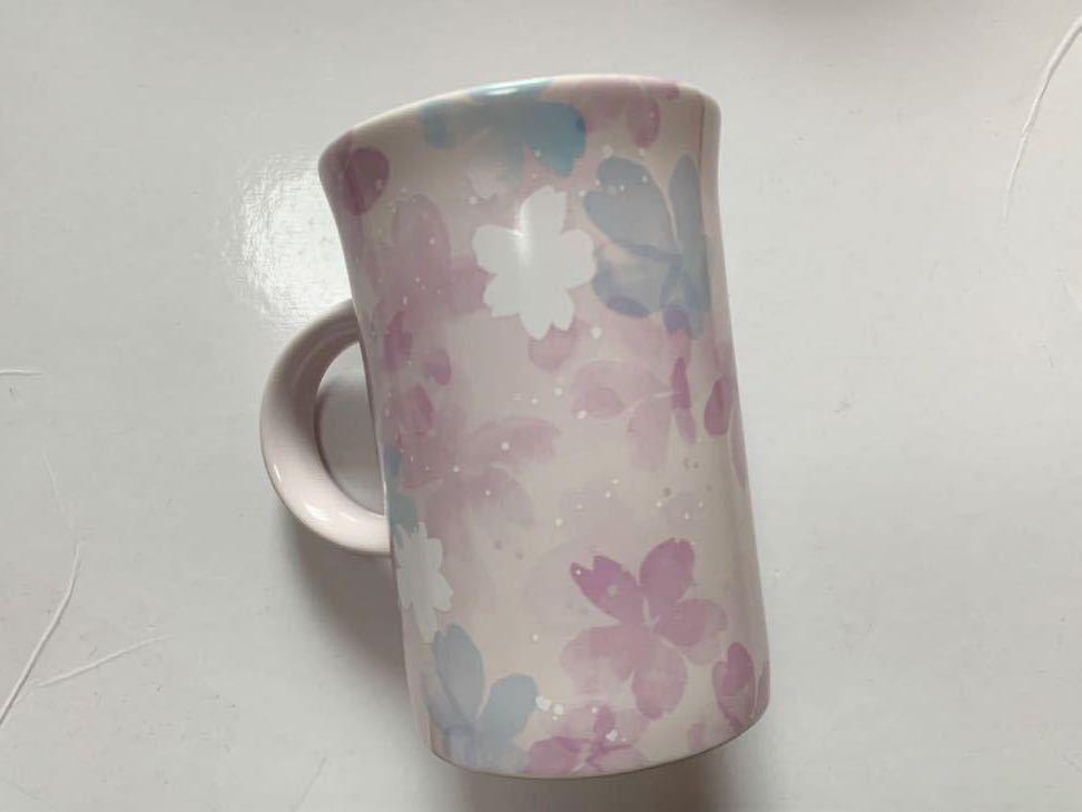 スターバックス コーヒー マグカップ SAKURA さくら スタバ 355ml STARBUCKS 2020 桜 花びら 新品 未使用 マグブリーズ 限定_画像2