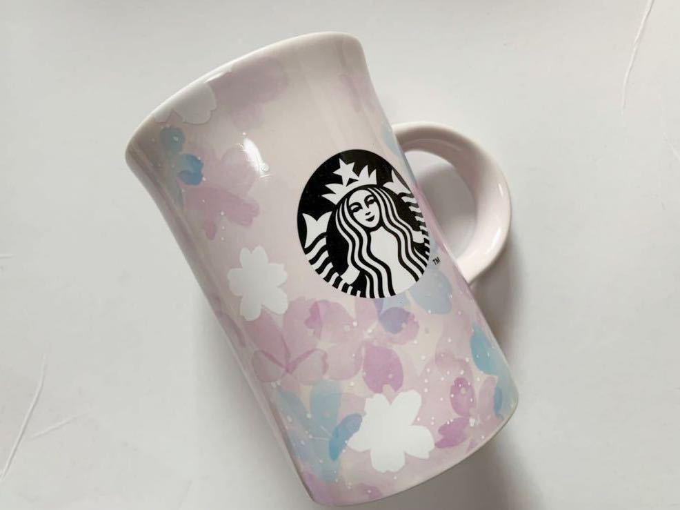 スターバックス コーヒー マグカップ SAKURA さくら スタバ 355ml STARBUCKS 2020 桜 花びら 新品 未使用 マグブリーズ 限定_画像1