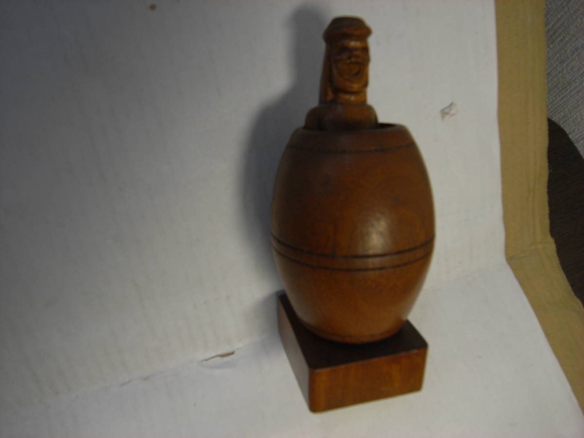 wooden doll adult oriented playing feeling